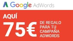 Regalo campaña adwords
