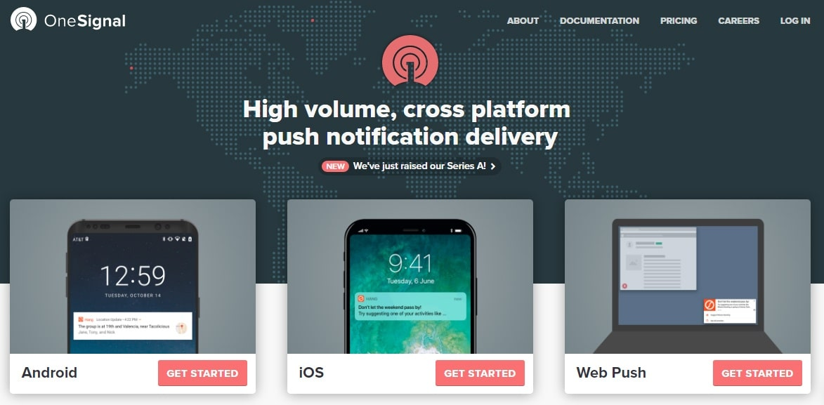 OneSignal Push plugin de para notificaciones en paginas web