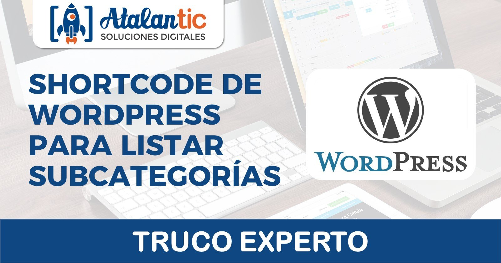 shortcode wordpress para listar subcategorias