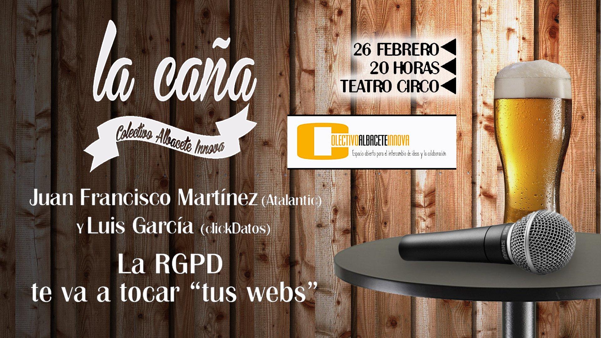 Charla RGPD - La Caña Innova